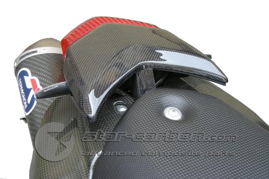 ducati hypermotard 796 1100 carbon fiber tail light cover. Black Bedroom Furniture Sets. Home Design Ideas